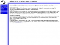 Adpro.nl - Adpro :: Home