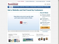 Free Website Building Software | Create a Website - Homestead