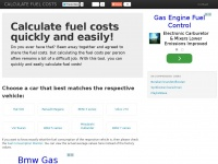 Calculatefuelcosts.co.uk - Calculate fuel costs quickly and easily!