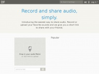 Clyp.it - Share, Embed & Upload Audio with Clyp