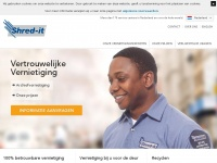 Archief-, papier- en harde schijf vernietiging | Shred-it Nederland
