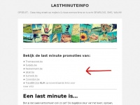 lastminuteinfo.be