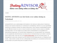 DATINGADVISOR – Voor de beste dating sites reviews!