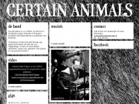 certainanimals.nl