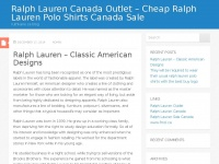 Aipcat.ca - Ralph Lauren Canada Outlet - Cheap Ralph Lauren Polo Shirts Canada Sale