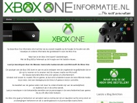 Xbox One Informatie | The next generation consoles