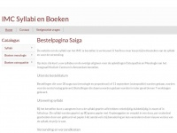 Imc-bestelonline.nl - Bestelpagina Saiga | IMC Syllabi en Boeken