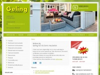 Geling-tuinmeubelen.nl - Home | Geling Tuinmeubelen