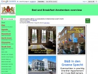 Hét bed and breakfast overzicht Amsterdam met 125 accommodaties