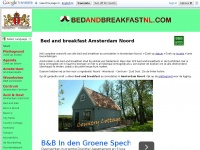 Hét bed and breakfast overzicht Amsterdam Noord