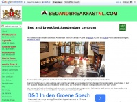 Hét bed and breakfast overzicht van Amsterdam centrum. Vind een B&B in de grachtengordel.