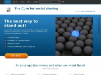 DCURE-Social Media Referral Software