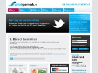 Plotgemak.nl - De online plotservice