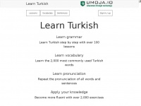 Umoja.io - Learn Turkish