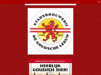 Homepage - www.stadsbrouwerijdegoudscheleeuw.nl