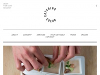 Coeurartichautcatering.be - Home | Coeur Catering