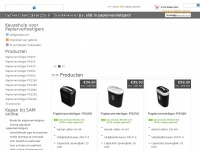 Papiervernietigersupply.nl, een papiervernietiger koop je bij papiervernietigersupply!