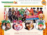 Timmermanscarnaval.nl - Timmermans Carnaval is een allround carnavalsspecialist en al 40 jaar een begrip voor carnaval minnend Nederland