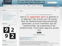 Start | ?? september -- 10e Skeeler- en Loopronde Maarssenbroek