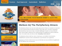 The Partyfactory Almere | All-inclusive feestvieren vanaf € 19,95 per persoon !