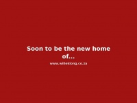Soon to be the new home of: willeklong.co.za