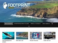 Website and multimedia services - Footprint visual communication