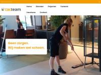 Tacteam.nl - Schoonmaakbedrijf in Drenthe nodig? | Tacteam | Emmen