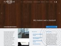Luxe designkasten, -keukens en -trappen op maat? Mail info@dlvv.nl - de Leeuw & van Vugt