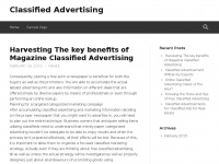 Edwardcavazos.info - Classified Advertising |