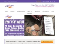 Foylewomensaid.org - Foyle Womens Aid offer Domestic Abuse, Domestic Violence Support in Derry / Londonderry, Strabane, Limavady & Dungiven – Foyle Womens Aid is a charity based in Derry ~ Londonderry, Northern Ireland.  We exist to elimina ..