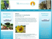 Mindfulness in vakantiesfeer.Mindfulnessindezon