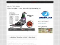 Duiven - De Backer Koen - duivenmelker uit Hoevenen - grote fond duiven