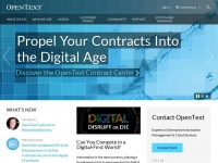 Opentext.lu - The Leader in Enterprise Information Management | OpenText