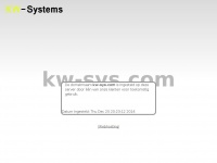 Gereserveerd: kw-sys.com - hosted by KW-Systems