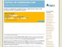 Hotelsincameroon.com - Hotels Cameroon Yaounde hotel booking: hotels in cameroon