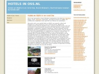 Hotels Oss hotel boeken de Naaldhof: hotels in oss