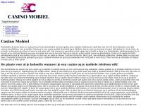 Casino mobiel   De plaats voor al je behoefte wanneer je een casino op je mobiele telefoon wilt!