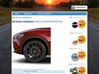 Tip: Originele Alfa Romeo Naafdoppen naafkappen wieldoppen velgen logo