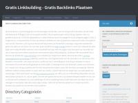 Gratis Linkbuilding Directory Gratis Backlinks Plaatsen