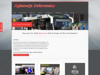 Rijbewijs informatie auto| motor | bromfiets | taxi | vrachtauto | autobus