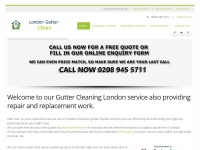 Londongutterclean.co.uk - London Gutter Cleaning, Repairs and Replacement