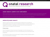 onatalresearch.nl