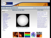 Nso.edu - Home Page - NSO - National Solar Observatory