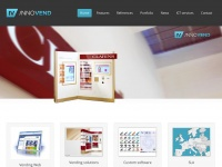 Innovend.eu - Innovend; innovative modular vending, remotely managed, EU payment.