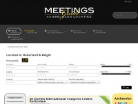 MEETINGS | Vind de beste meetinglocaties en eventsuppliers - Meetingsguide | © 2017