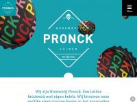 Brouwerij Pronck, eerlijk gebrouwen bier uit Leiden