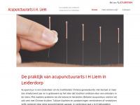 Chinese acupunctuur   Leiderdorp   Acupunctuurarts I H Liem