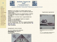 Antieketegelsdeduif.net - Antieke tegels De Duif, Hollandse tegels
