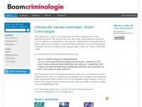 Boom Criminologie - Criminologie & Veiligheid fonds