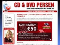 Cd-dvdpersen.nl - Aanbieding - CD Persen & DVD Persen -